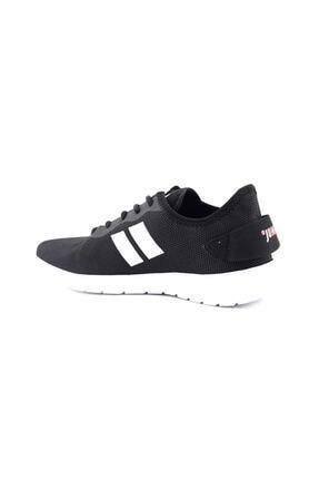 Jump - 24853 - Günlük Rahat Fileli Kullanışlı Ortapedik Spor Ayakkabı - Siyah - 39 2