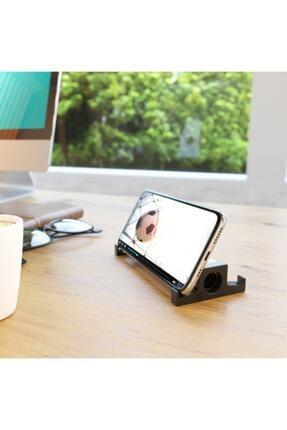 SEOWOOD Ahşap Akustik Telefon & Tablet Standı. Ses Artırma Ve Sese Akustik Katma Özelliği Stero Ses Kalitesi 1