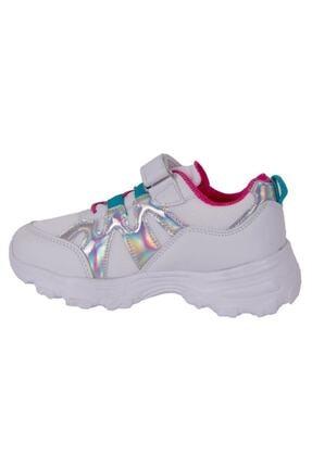 Kinetix WAVES MESH 1FX Beyaz Kız Çocuk Yürüyüş Ayakkabısı 100584429 2