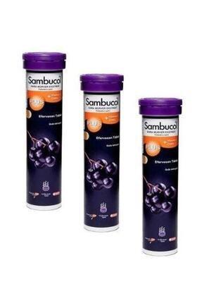 Sambucol Plus Vitamin C Zinc 15 Efervesan 3 Adet 0