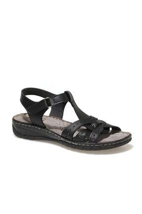 Polaris 91.158589.Z1FX Siyah Kadın Sandalet 101020331 0