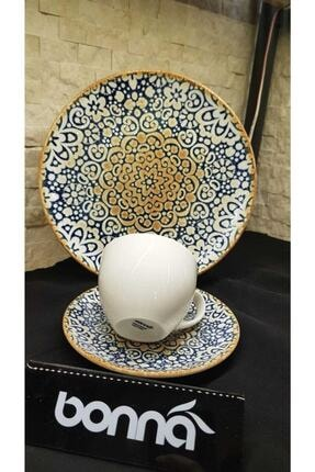 Bonna Alhambra 6 Kişilik Çay Seti Ve Pasta Takımı 2