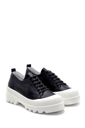 Derimod Kadın Siyah Deri Sneaker 3