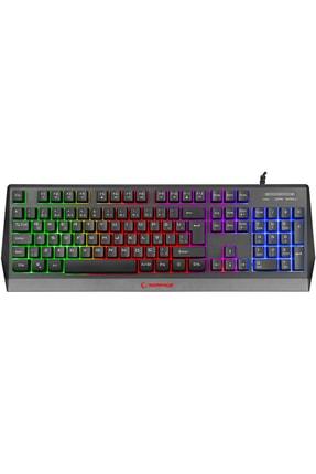 Rampage Kb-r52 Style Rainbow Aydınlatmalı Oyuncu Klavye 1