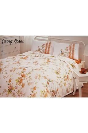 Özdilek Living Roses Pike Takımı Çift Kişilik-turuncu 0