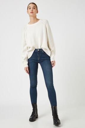 Koton Dark İndigo Kadın Jeans 1KAK47674MD 1