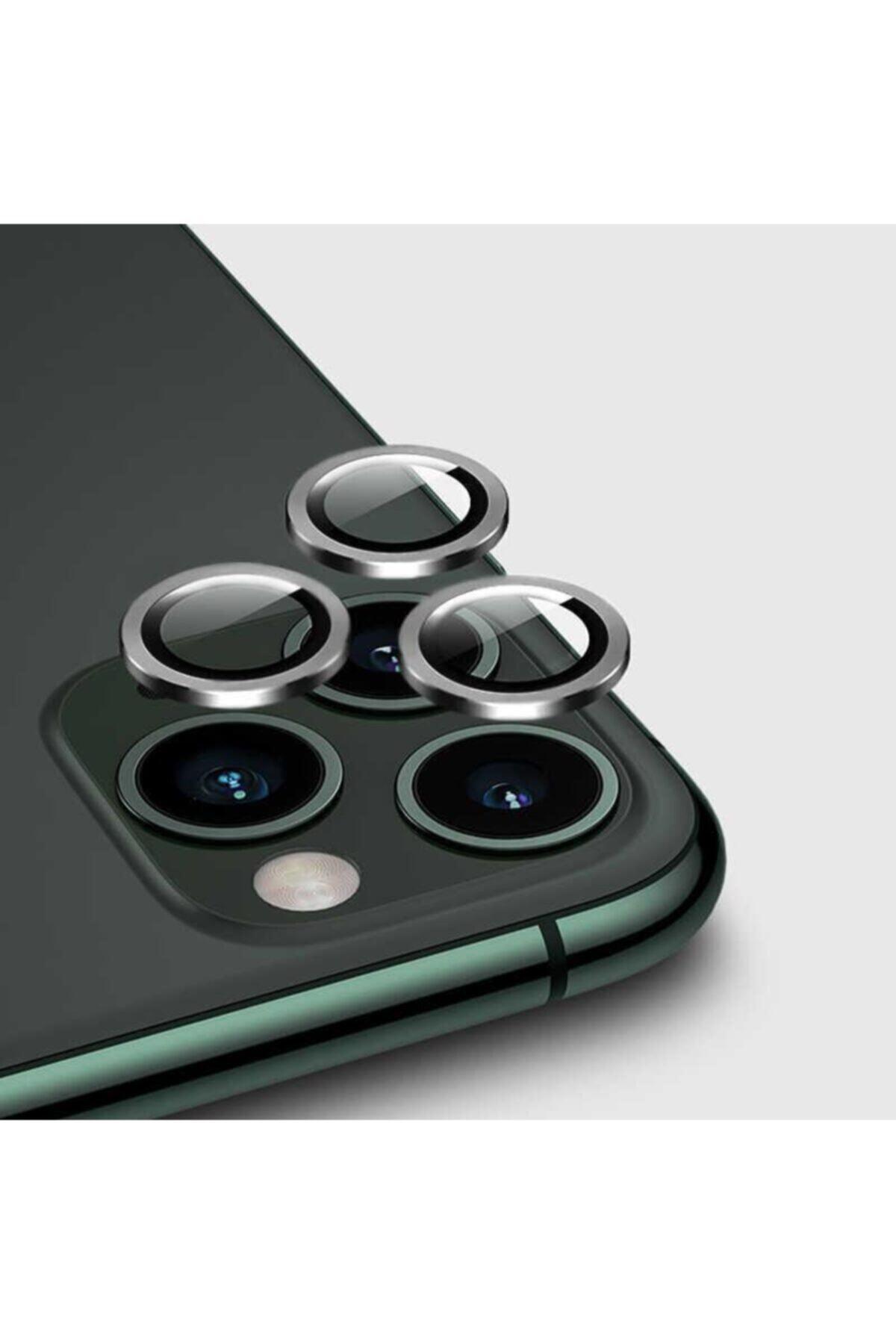 Iphone 12 Pro Max Cl-02 Uyumlu Kamera Lens Koruyucu