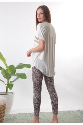 Pamuk Pamuk Kadın Ekru Pijama Takımı 1