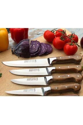 Lazoğlu Keskin Sürmene El Yapımı 4'lü Bıçak Seti 0