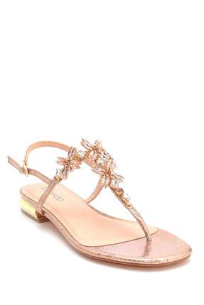 Derimod Kadın Taş Detaylı Sandalet 1
