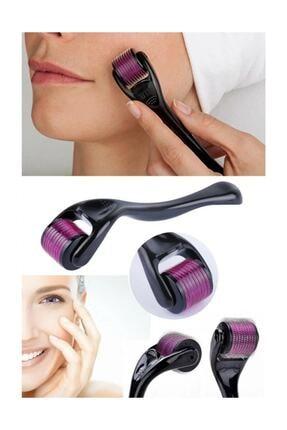 Viselia Saç Çıkarma Tarağı - Titanyum Iğneli Derma Roller Cilt Yenileme 0.5 Mm 3