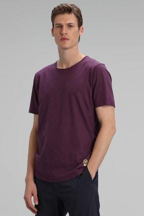 Lufian Junya Modern Grafik T- Shirt Mürdüm 1
