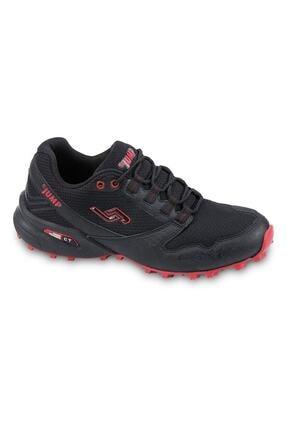 Jump 24810 Anatomik Günlük Erkek Spor Ayakkabı - - Siyah-kırmızı - 41 1