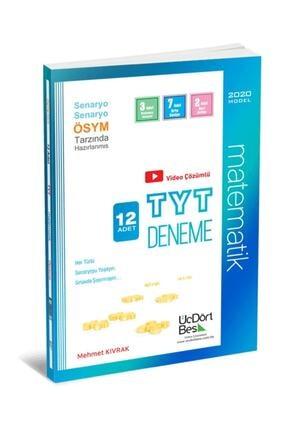 Üç Dört Beş Yayıncılık Üçdörtbeş Yayınları Tyt Matematik 12 Adet Deneme 0