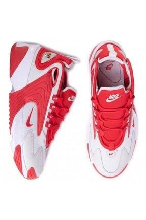 Nike Unisex Kırmızı Beyaz Zoom Ayakkabı 2k Ao0269-012 1