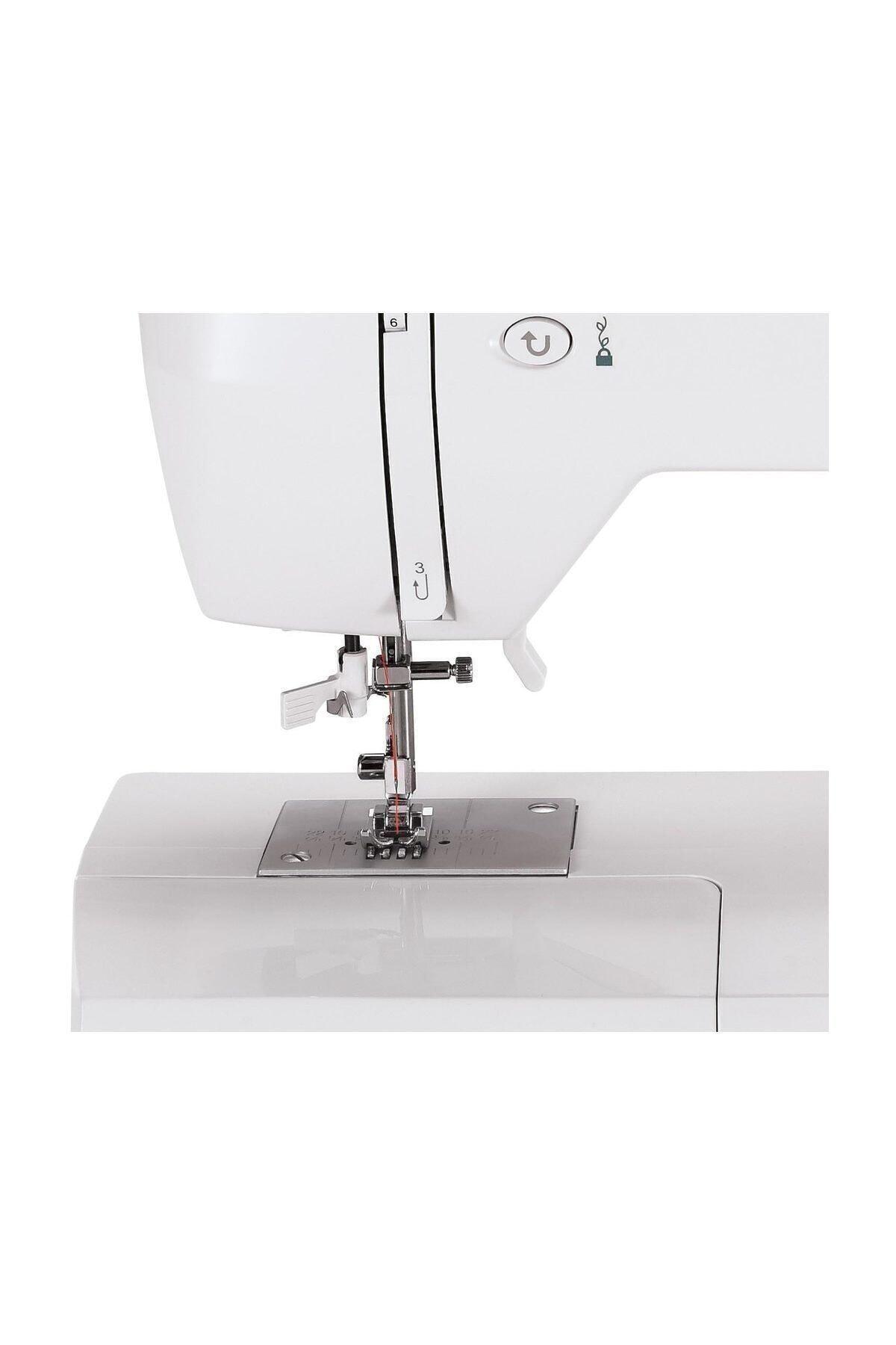 SINGER Beyaz Brilliance Dikiş Makinesi 6180
