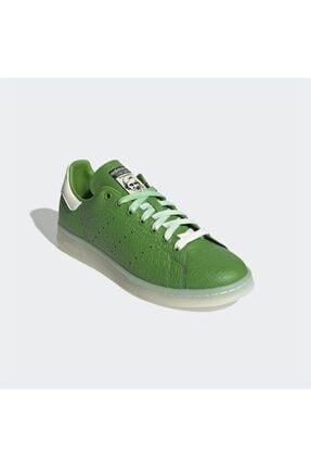 adidas Erkek Yeşil Stan Smith  Günlük Spor Ayakkabı 3