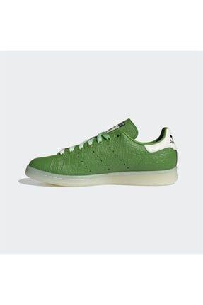 adidas Erkek Yeşil Stan Smith  Günlük Spor Ayakkabı 4