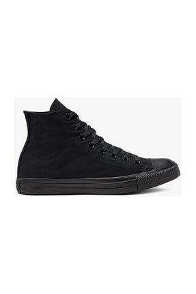 Converse Unisex Siyah Chuck Taylor All Star Hi Sneaker M3310C 0
