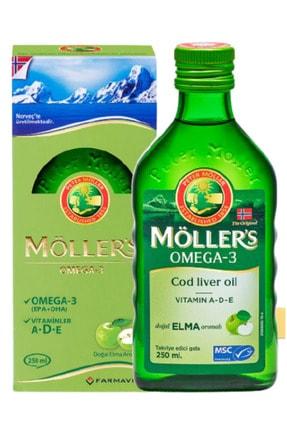Mollers Möllers Omega-3 Sıvı Formu 250 ml - Elmalı 0