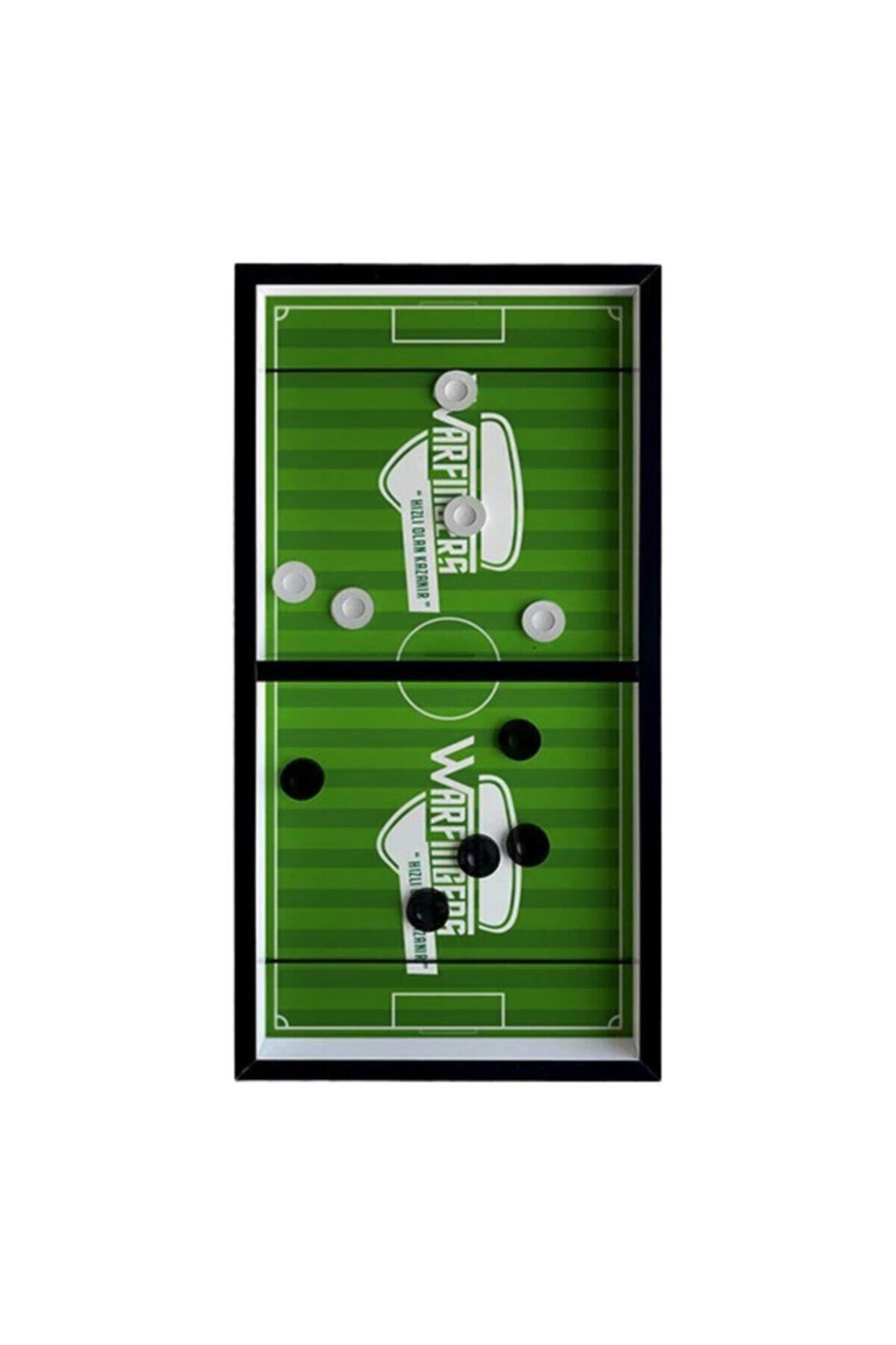Lastikli Futbol Slingpuck Şut Ve Gol Hızlı Sapan Masa Üstü Futbol Oyunu