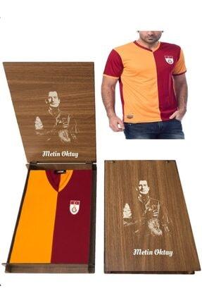 Picture of Galatasaray Fan (polyester) Metin Oktay Forma Hediye Metin Oktay Ahşap Kutulu