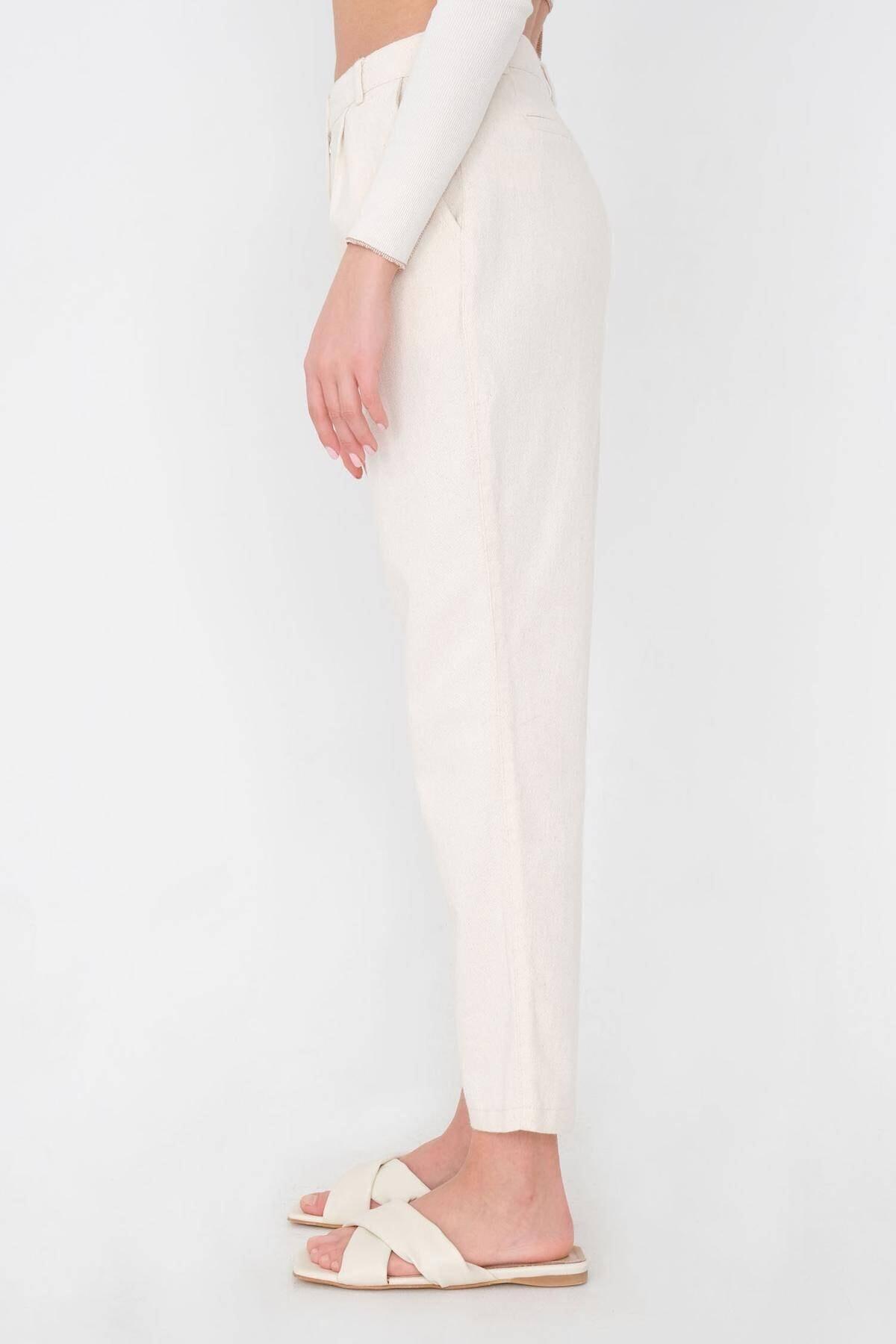 Addax Kadın Taş Cep Detaylı Pantolon Pn03-0045 - K12 Adx-0000024274 3