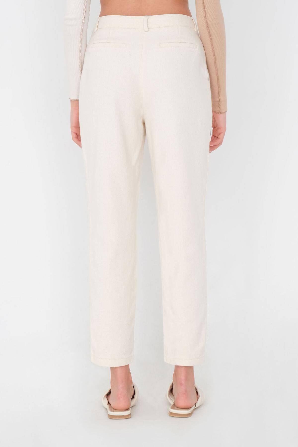 Addax Kadın Taş Cep Detaylı Pantolon Pn03-0045 - K12 Adx-0000024274 4