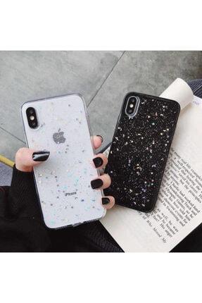Kılıfsiparis Apple Iphone Xr Şeffaf Simli Silikon Telefon Kılıfı 1