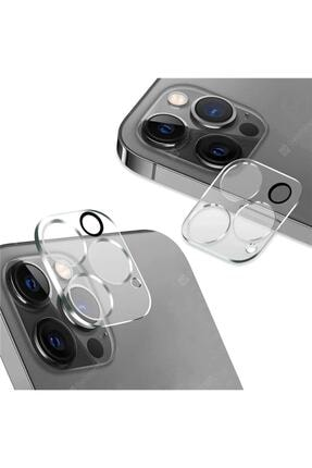 Ekoodukkan Apple Iphone 12 Pro Max Kamera Lens Koruyucu Cam Filmi 0