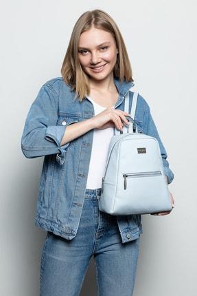 Marie Claire Açık Mavi Kadın Sırt Çantası Jane Mc212102011 0