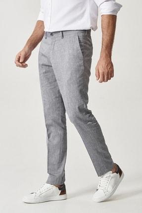 Altınyıldız Classics Erkek Lacivert Slim Fit Casual Pantolon 2
