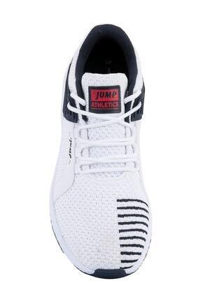 Jump Erkek Beyaz Günlük Yürüyüş Rahat Taban Spor Ayakkabı 24909 0