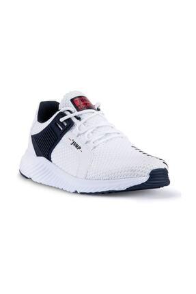 Jump Erkek Beyaz Günlük Yürüyüş Rahat Taban Spor Ayakkabı 24909 1