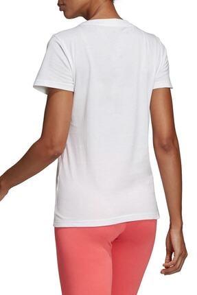 adidas W E LIN SLIM T Beyaz Kadın T-Shirt 100411862 1