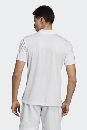 adidas CLUB 3STR POLO-1 Beyaz Erkek T-Shirt 100403539 2