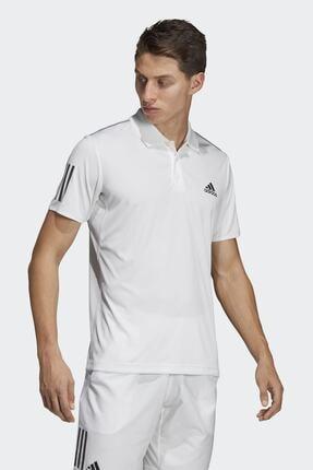 adidas CLUB 3STR POLO-1 Beyaz Erkek T-Shirt 100403539 3