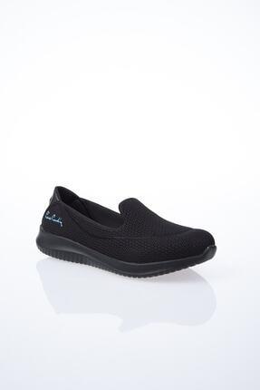 Pierre Cardin Kadın Siyah Düz Yürüyüş Ayakkabısı 0