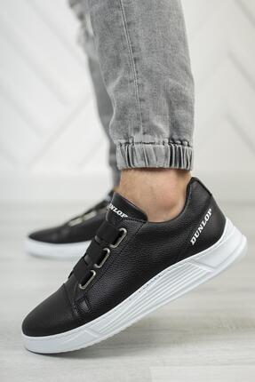 Dunlop Erkek Siyah Lastikli Spor Ayakkabı 1207 2