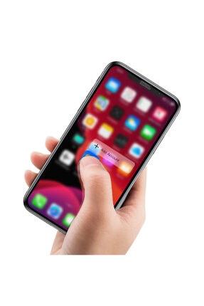 Baseus Iphone 11 Pro- Xs-x 0,23mm Anti Spy Çerçeveli Tempered Cam Ekran Koruyucu 4