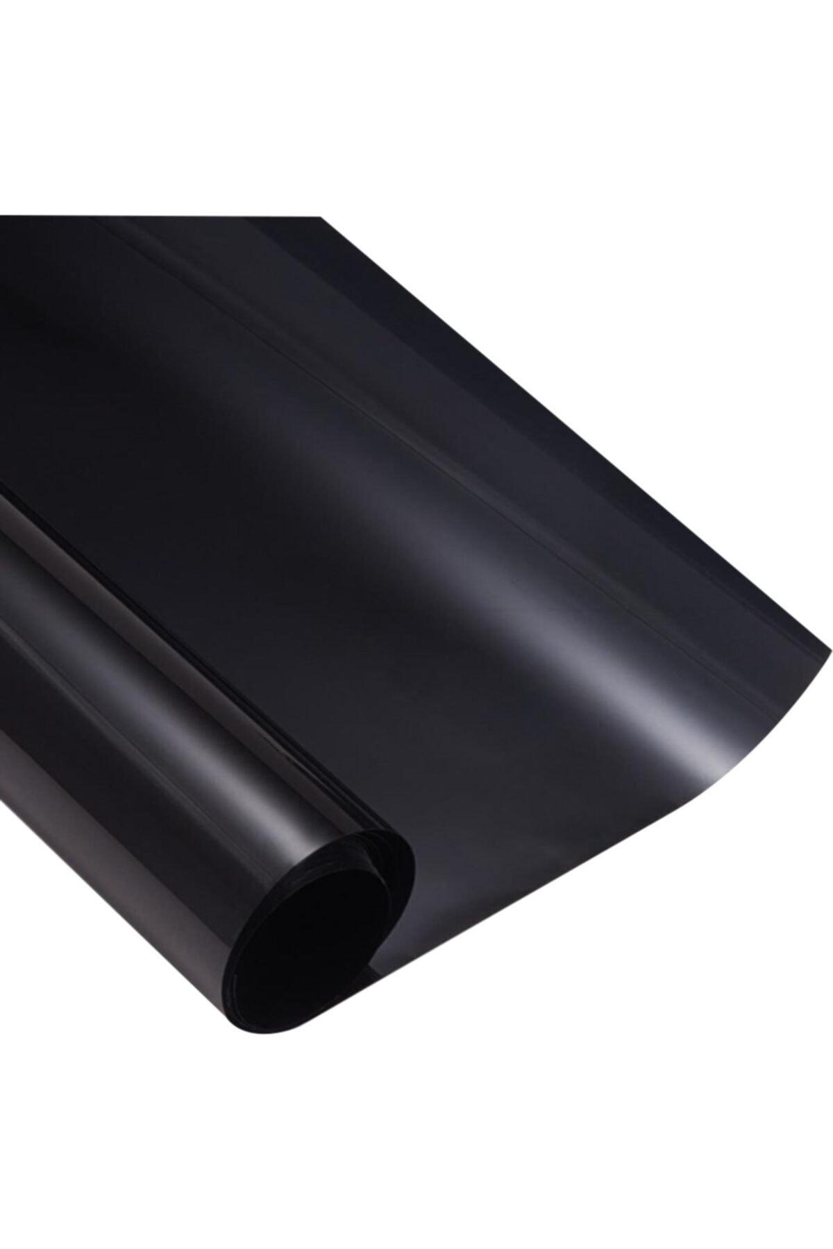 Siyah Cam Filmi Koyu Ton 50cm X 6m