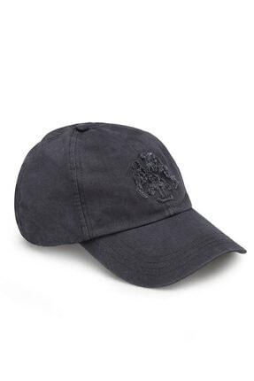 Mavi Mühür Logo Gri Şapka 2