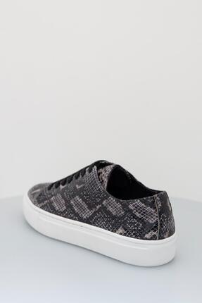 Sea Bullock Kadın  Sneaker Snake Kauçuk Siyah Kadın 2