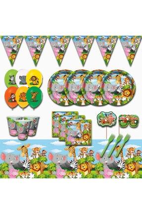 Doğum Günü Parti Malzemeleri Seti Süsleri 40 Kişilik pssaf005