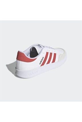 adidas Erkek Beyaz Bağcıklı Günlük Spor Ayakkabı Breaknet 3