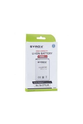Syrox Lg G4-g4 Stylus Uyumlu Batarya 0