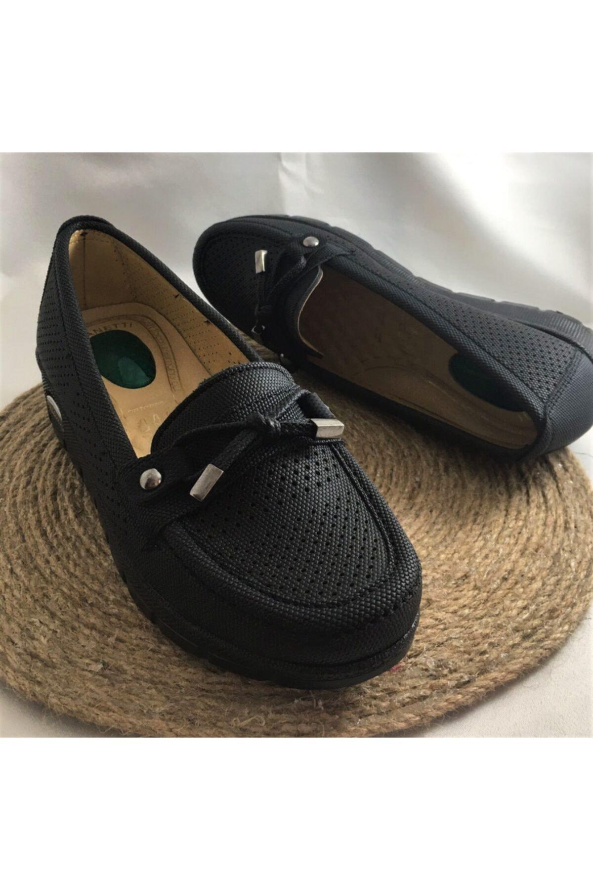 Yumuşak Deri Topuk Dikeni Önleyici Jel Sisteml Dolgu Taban I Ortopedik Anne Ayakkabısı