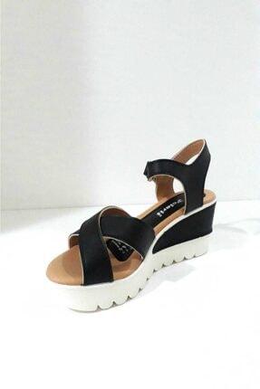 Polaris Kadın Siyah Sandalet 2