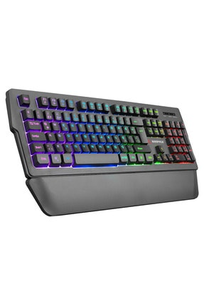 Rampage Kb-r62 Classy Rgb Aydınlatmalı Makrolu Bileklik Destekli Gaming Oyuncu Klavyesi 1