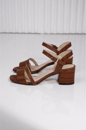 Taba Topuklu Ayakkabı P25391S4440
